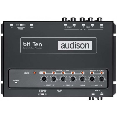 Процессор Audison Bit Ten D Signal interface processor